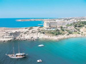 Coral Bay in Cyprus beach hotel