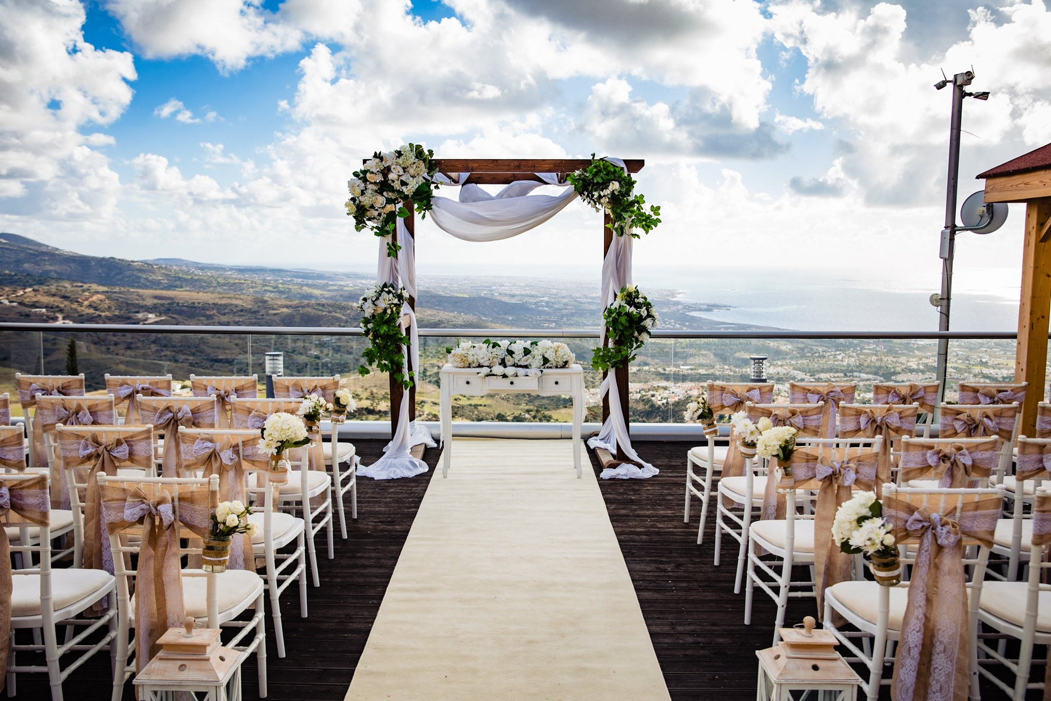 Wedding Cyprus Villas Ocenica Villa intimate Ceremony