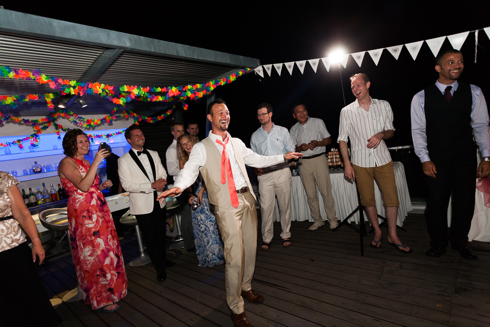 wedding party in Oceania Villa
