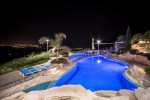 Villa Panorama in Peyia during night time