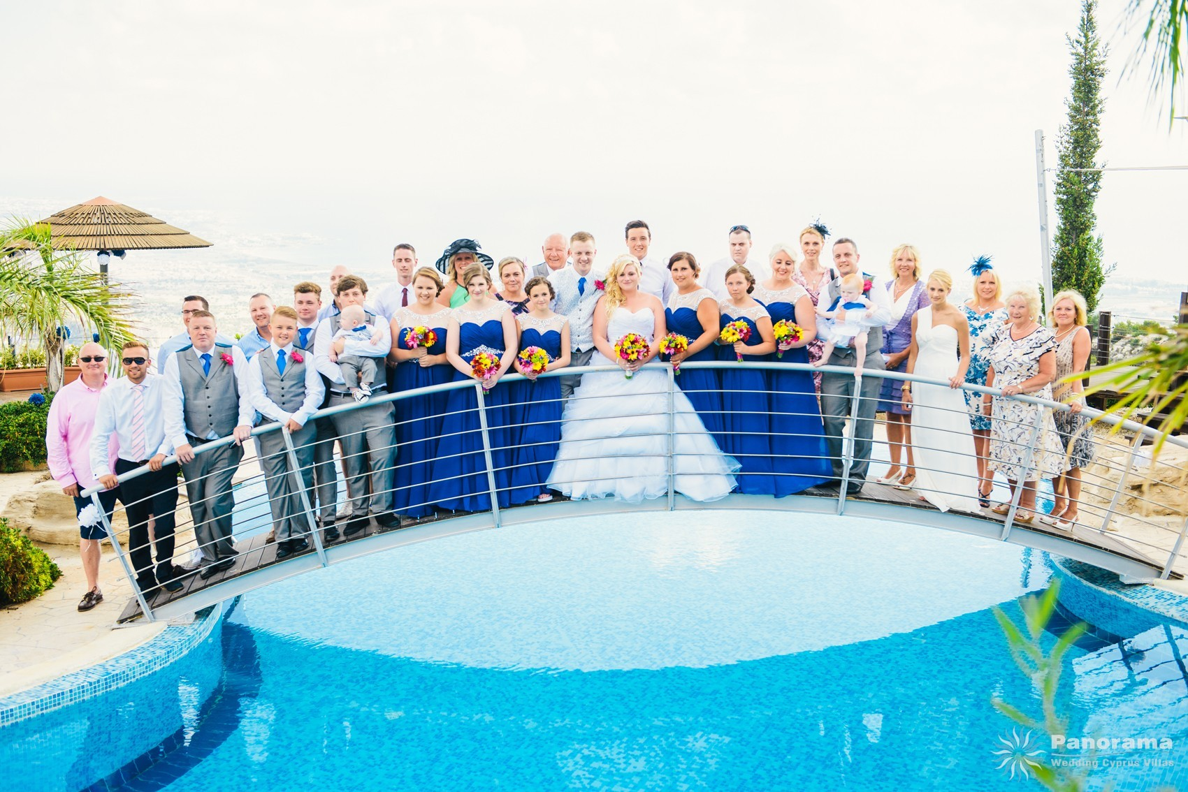 A dream wedding party at Panorama Villa
