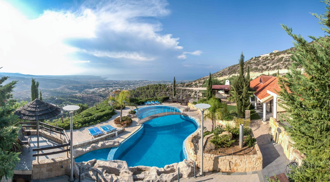 Wedding villa in Cyprus with private swimming pool