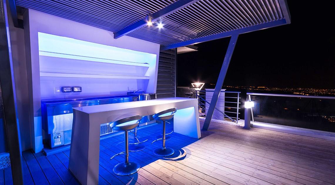 Oceania Villa  Roof Garden Bar  Wedding Cyprus Villas