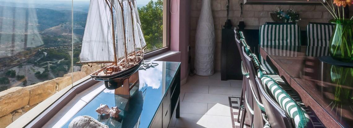 Panorama Peyia Cyprus Villa dinning room