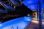 Oceania Villa in Cyprus  with Private Swimming Pool Night