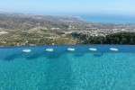 Oceania wedding - holiday Villa in Cyprus swimmingpool with  Sunken Stools