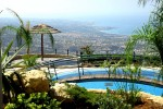 Villas in Paphos - Rare Deck With Panoramic View