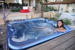 Outdoor Jacuzzi Panorama holiday Villa in Cyprus