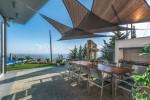 Oceania Villa in Cyprus large BBQ Area