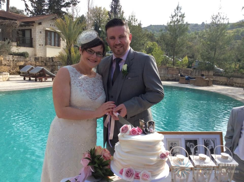 Catherine Eveleigh wedding in Paphos