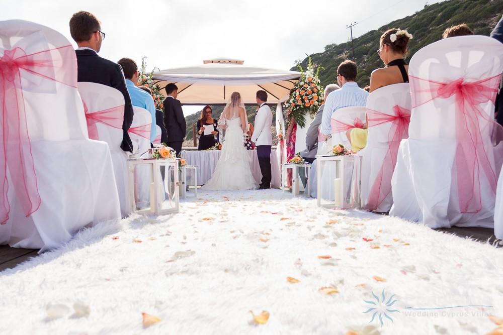 Cyprus Villas Wedding Reception