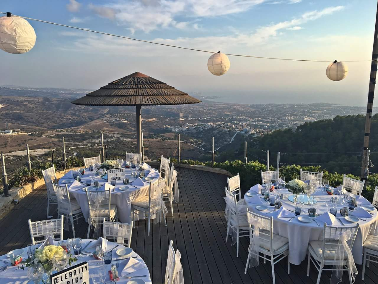 Wedding Reception at Panorama Villa 2019