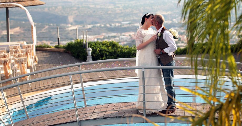 small wedding in Cyprus