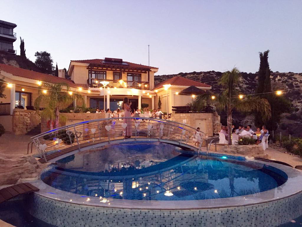 Cyprus Wedding Villa Panorama Summer 2020