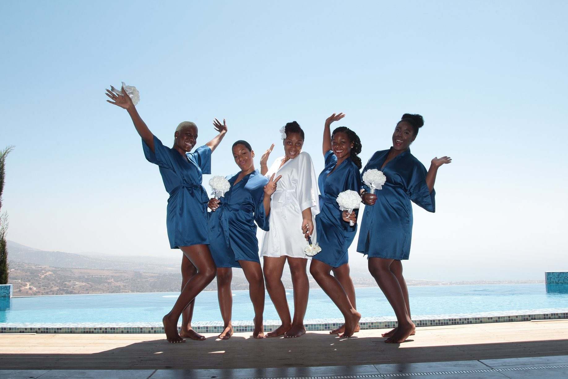 brides-maid oceania wedding villa weddings 2020 paphos holidays