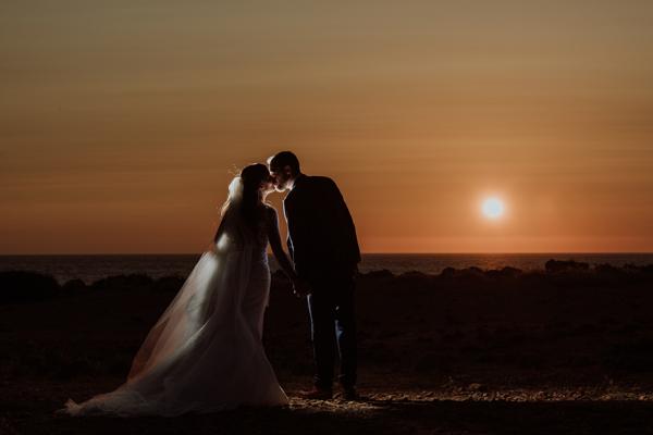 Cyprus wedding villa venue for ceremony and reception table