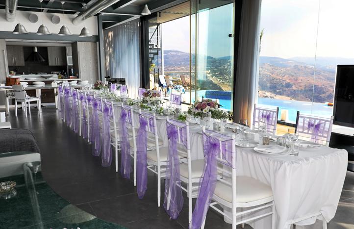 Oceania Villa Indoor Wedding Reception