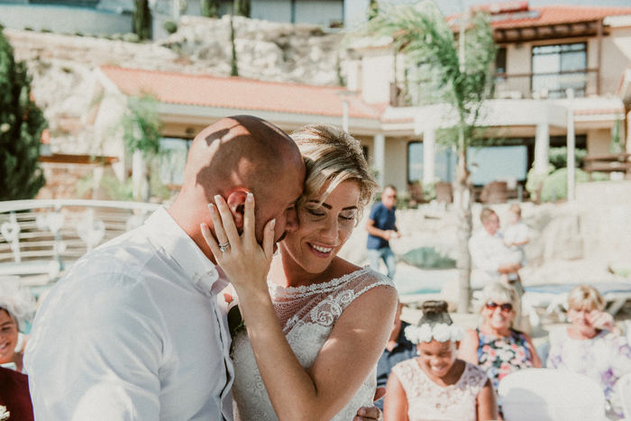 Wedding Couple at Panorama Villa - Postpone Weddings 2021