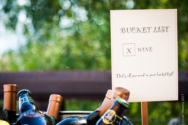Wedding Bucket List -drink receptions