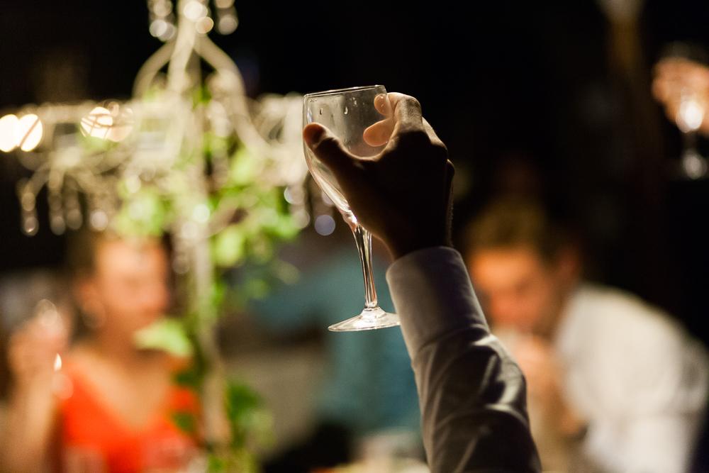 Wedding Drinks and wedding toasting