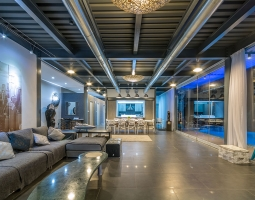Oceania Villa Living Room