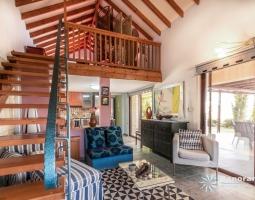 Panorama Villa- Living Room And Mezzanine