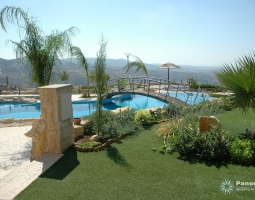 Panorama Viall Garden Landscape