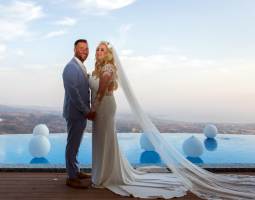 Stacey & Graham Wedding Oceania Villa