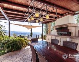 Panorama Villa BBQ Area