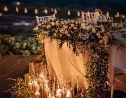 Panorama Villa Night Wedding Reception